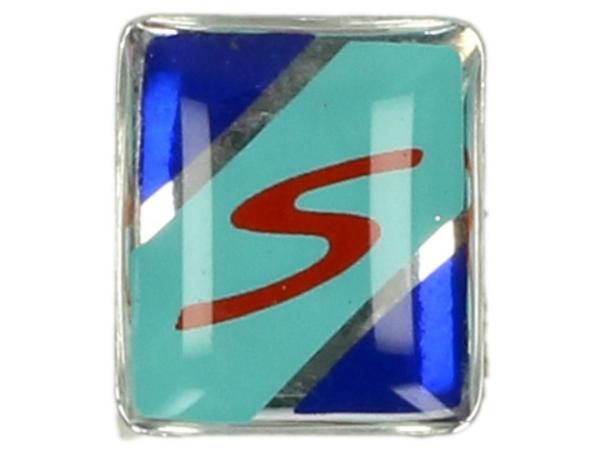 Decor, S, blu, verde, rosso - Per parafango trim