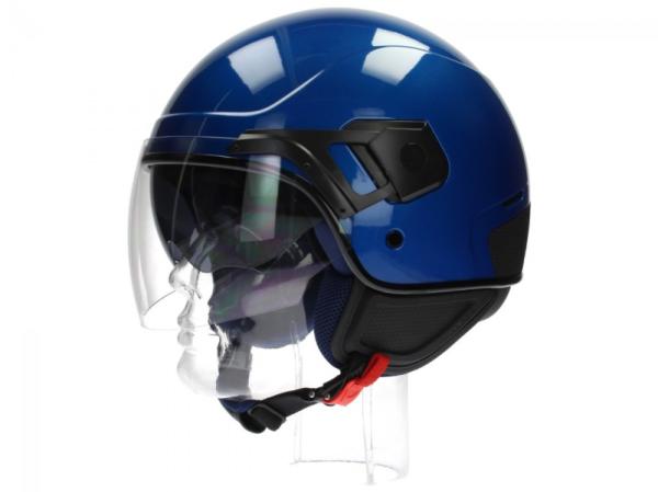Piaggio casco PJ Jet azzurro