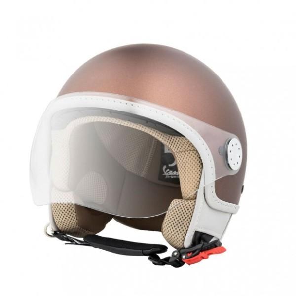 Vespa Casco Jet Primavera 50° Special Edition - marrone