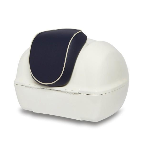 Original schienalino bauletto Vespa Primavera - Yacht Club Edition azzurro