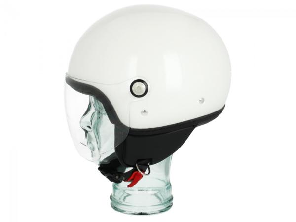Piaggio P-Style Jet casco bianco 566