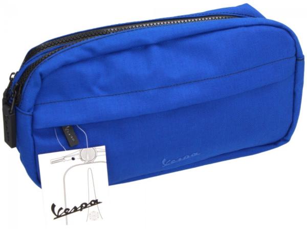 Vespa sacchetto cosmetico blu