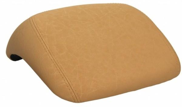 Original Vespa pad indietro, beige liscio