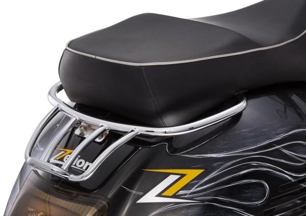 Portapacchi posteriore per Vespa GTS/GTV/GT 125-300ccm 4T LC, cromo