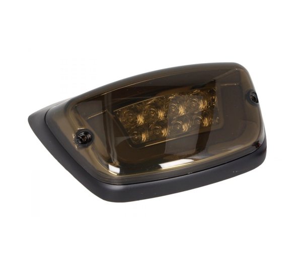 Fanale posteriore a LED nero, omologato E per Vespa LX / LXV