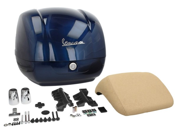 Originale bauletto Vespa GTS - blue midnight 222/A (a 2014)