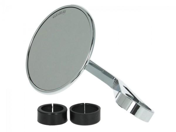 Specchio manubrio Highsider Montana per Vespa sinistra o destra, cromato
