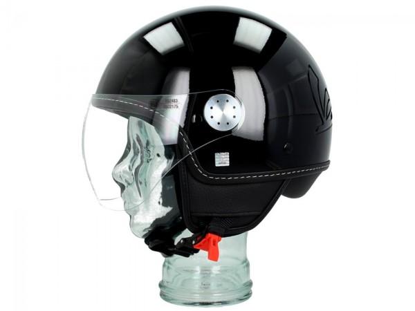 Vespa Casco jet Visor 3.0 nero