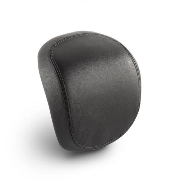 Original vera pelle schienalino bauletto per Vespa Primavera / Sprint / Elettrica - nero