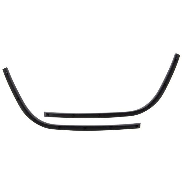Pedana singola tubo nero lucido per Vespa Primavera / Sprint 50-150ccm