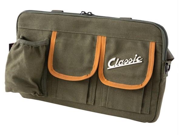 """Borsa """"Classic"""" per vano bagagli / vano portaoggetti Vespa - verde oliva, canvas"""