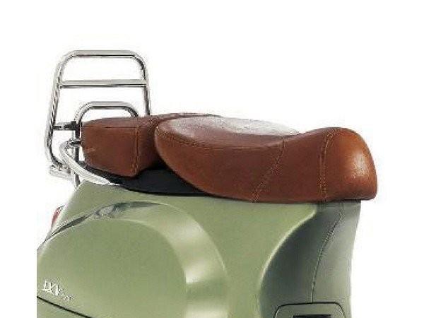 Panca Vespa in vera pelle a 2 posti per LX 50-150cc Touring, ET2 / ET4 / LX / LXV / S 50-150cc-