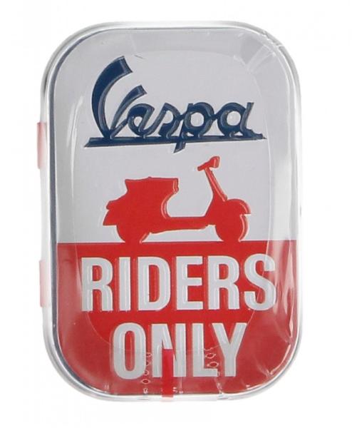Vespa portapillole Vespa riders only, latta