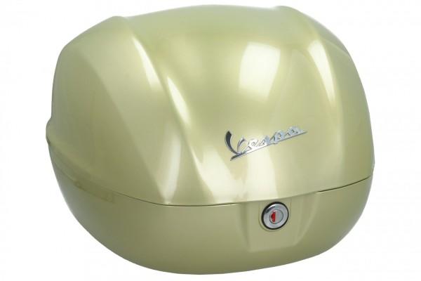 Bauletto originale per Vespa Primavera / GTS 75 anni giallo