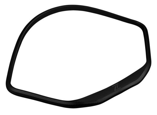Cornice contachilometri per Vespa GTS/GTS Super/GT/GT L 125-300ccm (-'13), nero