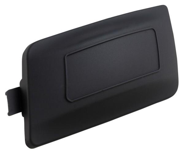 Copertura coperchio variatore per Vespa Primavera/Sprint/GTS/GTS Super, nero opaco