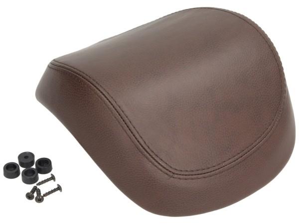 Original vera pelle schienalino bauletto per Vespa Primavera / Sprint / Elettrica - marrone