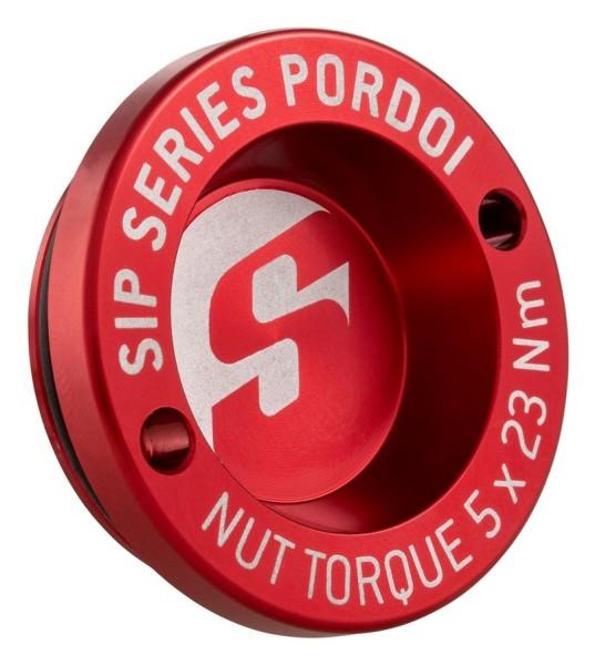 """Tappo antipolvere 13"""" cerchione anteriore per Vespa GTS/GTS Super/GTV/GT 60/GT/GT L 125-300ccm, rosso"""