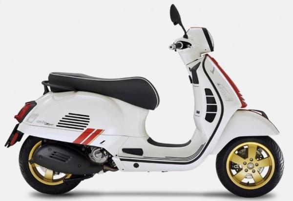 Set decoro, Vespa GTS Racing Sixties - rosso