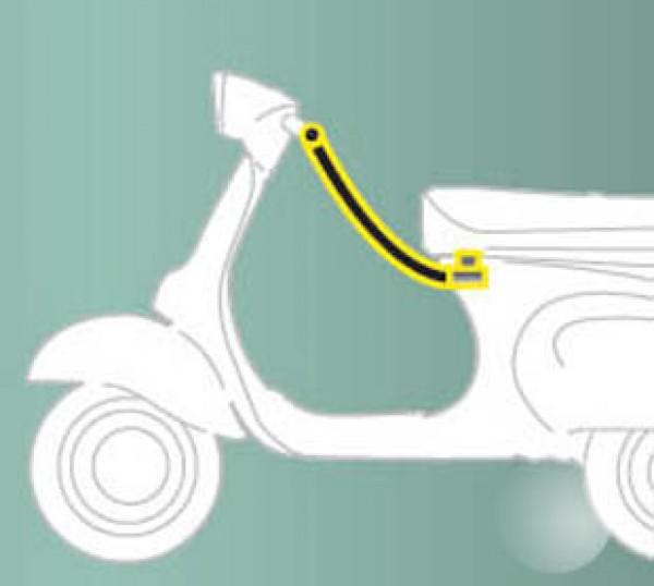 Dispositivo antifurto (sedile - manubrio) standard per ZIP Original Piaggio
