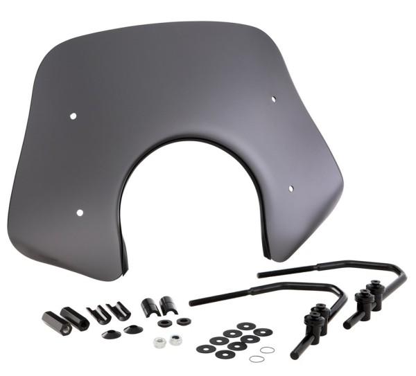 Parabrezzino Piccolo per Vespa GTS/GTS Super/GT/GT L 125-300ccm, nero opaco