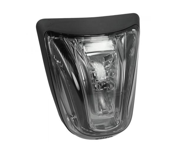 Fanale posteriore a LED nero, omologato E per Vespa Primavera / Sprint
