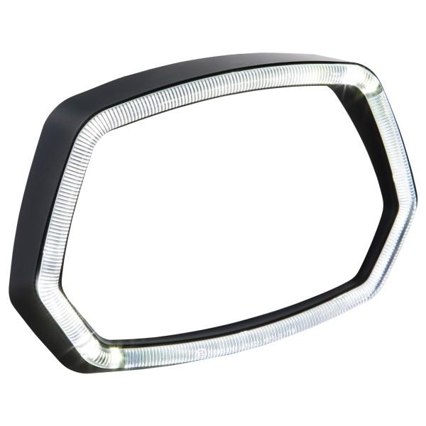 Vespa Sprint 125 / 150ccm 4T ('13 -'18) Anello fari nero opaco Anello luci a LED