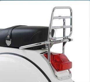 Original Portapacchi posteriore pieghevole cromato Vespa PX
