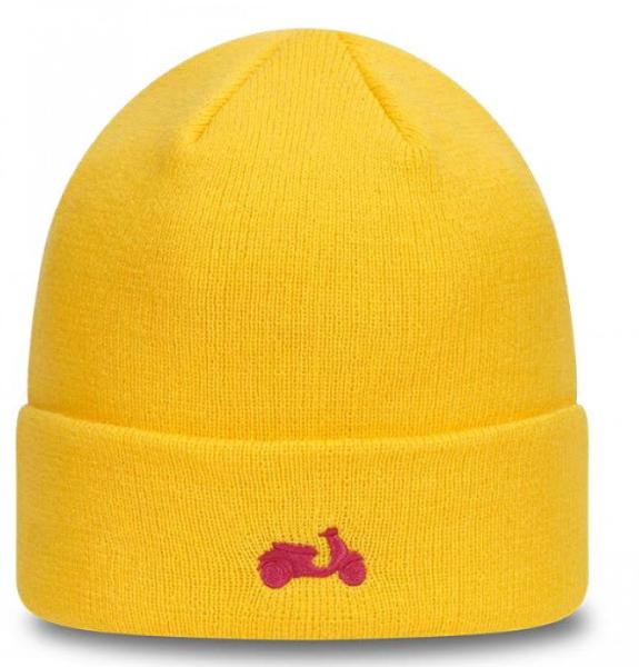 Cappello a maglia Vespa NEW ERA giallo