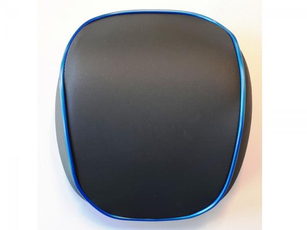 Original schienale per Topcase Vespa Elettrica blu/blue