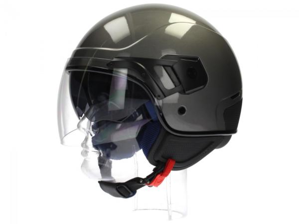 Piaggio casco PJ Jet grigio