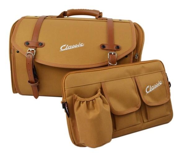 Set borsa Classic per Vespa, marrone
