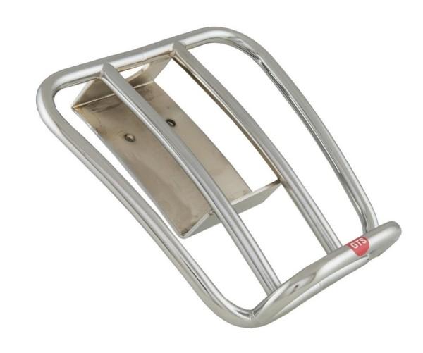 Portapacchi posteriore 70's per Vespa GTS/GTV/GT 125-300ccm 4T LC, cromo