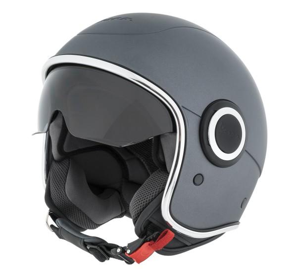 Vespa casco VJ1 grigio titanio opaco