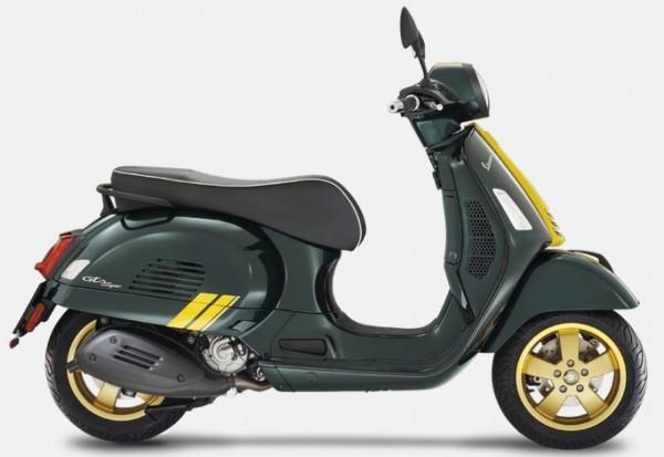 Set decoro, Vespa GTS Racing Sixties - giallo