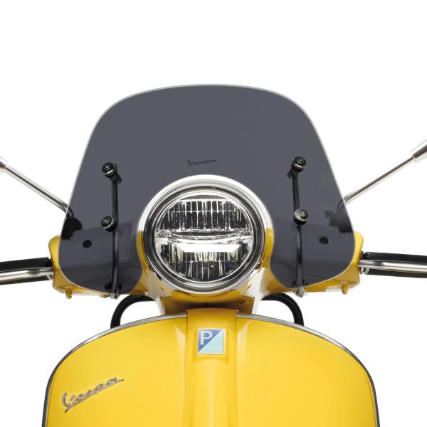 """Parabrezza sportivo """"Cruiser"""" fumato per Vespa GTS / Super (HPE & SuperTech) Vespa originale"""