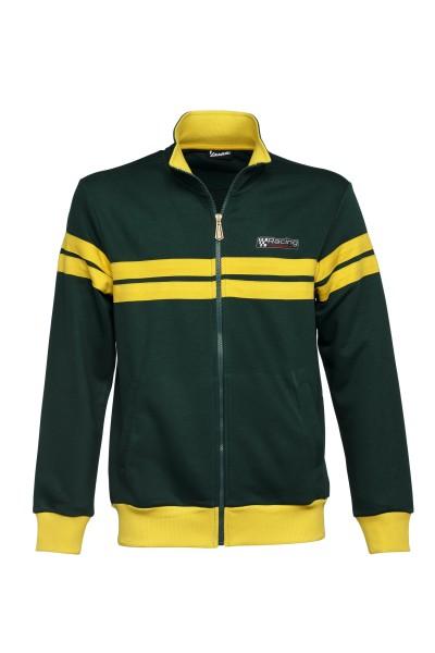 Giacca felpa Vespa, Racing Sixties anni '60 verde / giallo