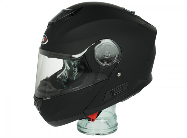 Shiro Casco Flip Up, SH507, nero opaco