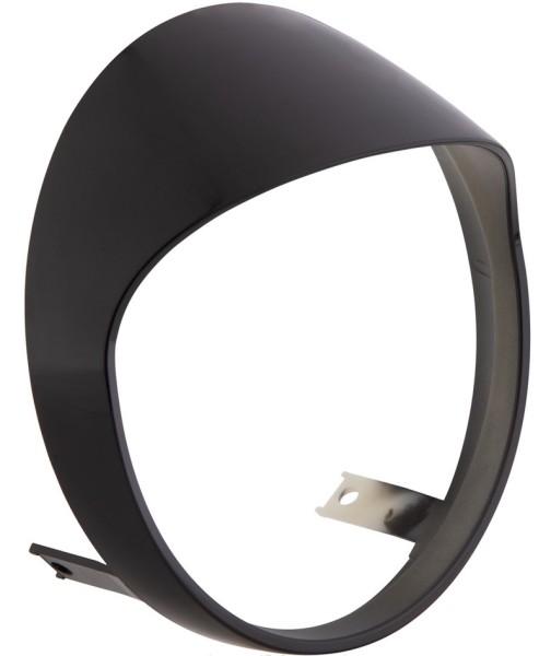 Ghiera fanale per Vespa GTS/GTS Super HPE 125/300 ('19-), nero lucente