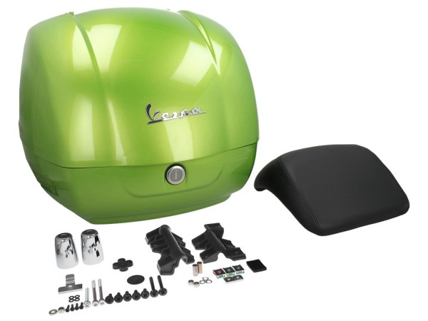 Originale bauletto Vespa GTS - verde / gem green / hope green 341/A