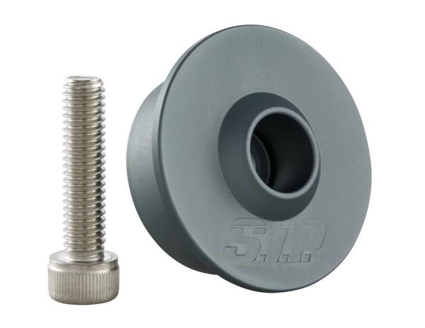 Kit di montaggio per specchietto parte manubrio senza contrappesi, MK II, grigio