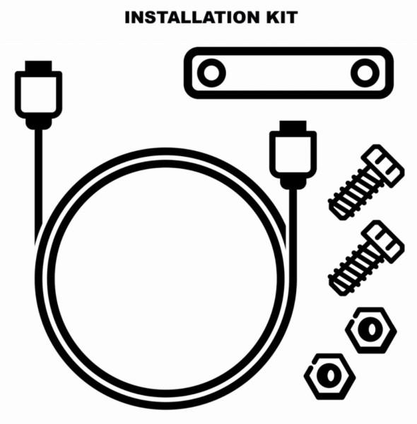 Kit installazione antifurto elettronico (1D002554)