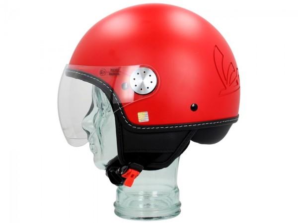Vespa Casco jet Visor 3.0 rosso profondo