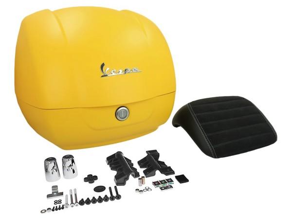 Originale bauletto Vespa GTS - matt giallo / giallo jealousy 974/A