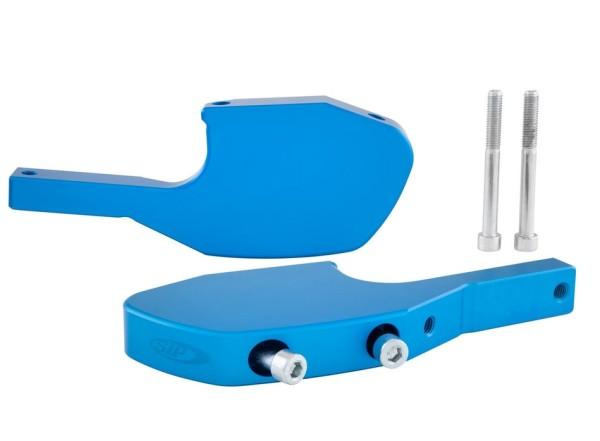 Adattatore poggiapiedi passeggero per Vespa GTS/GTS Super/GTV/GT 60/GT/GT L 125-300ccm, blu opaco