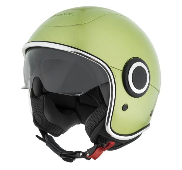 Vespa casco VJ1 verde