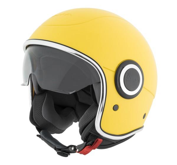Vespa casco VJ1 giallo