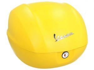 Originale bauletto Vespa Sprint matt giallo / giallo jealousy / 974/A