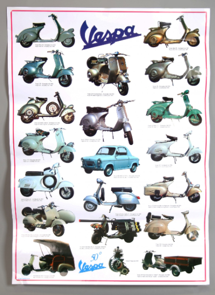 Vespa poster, Vespa 2a serie