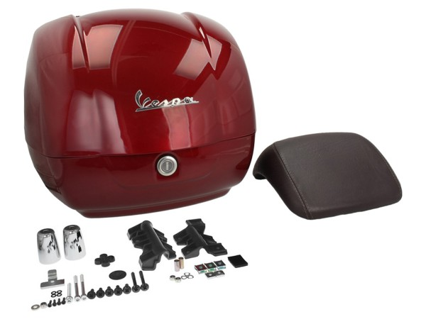 Originale bauletto Vespa GTS - red must / vignola 880/A